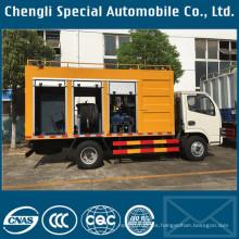 Camiones de aguas residuales para tratamiento de aguas residuales 4X2 en venta