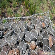 Malha de arame hexagonal pesada / malha de gabião