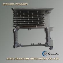 Radiateur en aluminium de technologie de bâti en métal pour le moteur servo