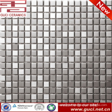 indoor and outdoor stainless steel in mosaic tile