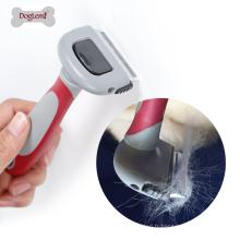 Outil démontable de brosse de solvant de cheveux de toilettage d'animal familier pour des chiens