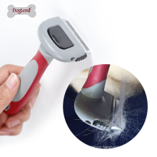 Removable Pet Grooming Hair Remover Brush Deshedding Tool for Dogs