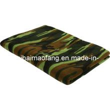100% полиэстер флис армии/военный одеяло