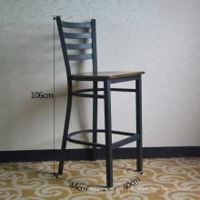 Black Vintage Metal High Restaurant Bar Chair (SP-LC286)