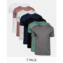 Wholesale Men Crew Neck Plain Cotton Jersey / T-Shirt