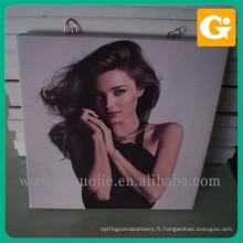PMMA ou acrylique ou vinyle ou impression de photo en verre pour la production promotion