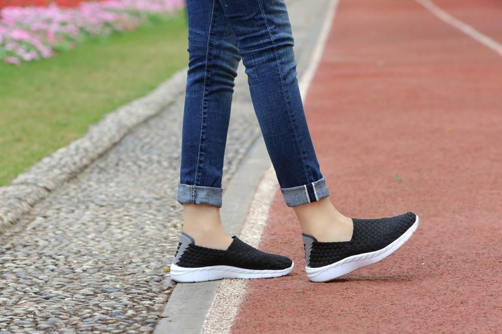 Slip-on Flat Woven Loafers