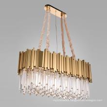 Modern lighting crystal ceiling chandeliers golden pendant lights led chandelier lamp for home light
