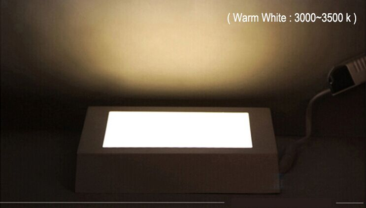 LED Square Rd Panel Light 12watts