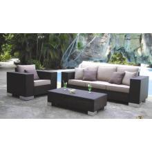 Place extérieure canapé d'osier de meubles nouveau tissu Sets Design