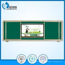 Magnetische grüne Schiebetafel/Tafel mit LCD