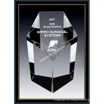 Prêmio de Obelisco de cristal Sterling (NU-CW791)