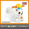 Funny Animal Bear Shape Plastic Baby Chair Toilet