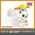 Funny Animal Bear Shape Plastic Baby Chair Toilet