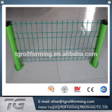 triangle/triangular bending /peach column -triangle fencing making machine(supplier)