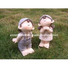 Polyresin Garden Sculpture Doll Decoration Crafts