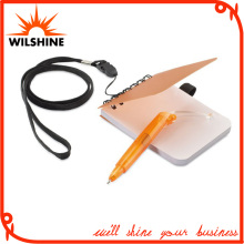 Mini Size PP Cover Spiral Notebook with Lanyard (PPN232)