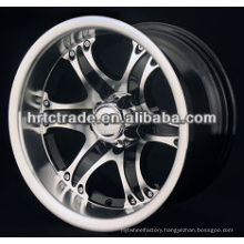 14/15 inch beautiful 6 hole 139mm replica sport car wheel