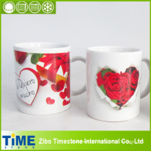 High Quality Ceramic Mug with Rose Design (15041102)