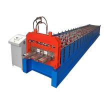 Máquina formadora de rollos de piso de acero galvanizado