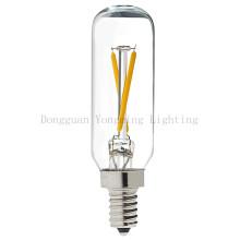 Bulbo do diodo emissor de luz do filamento da torção de T25 1.5W com transparente