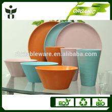 Набор столовой посуды из бамбука для продажи 3шт.