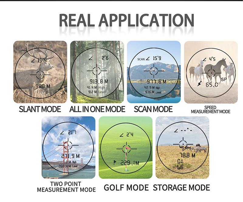 Safe Stable accurate Laser Range finder Golf (8)