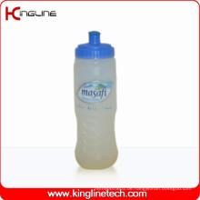 Plastik-Sport-Wasser-Flasche, Plastik-Sport-Wasser-Flasche, 700ml Plastik-Getränk-Flasche (KL-6748)