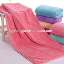 custom cheap magic quick dry coral fleece towel
