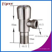 Fyeer High Quality 304 Stainless Steel Brushed Cheap Angle Vlave