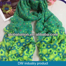 Beautiful light scarves wholesale digital printed scarf