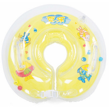 Anillo inflable del bebé del bebé del PVC para el baño del bebé