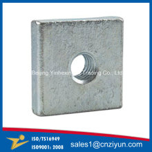 OEM Metal Square Threaded Washer