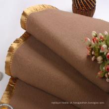 Colorido, liso, desenho, lã, cobertor