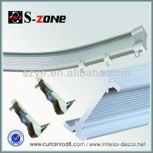 Plastic u shaped curtain poles and rails stockists