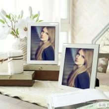12 x 6 foto marco de fotos de vidrio pared frontal colgar en la pared