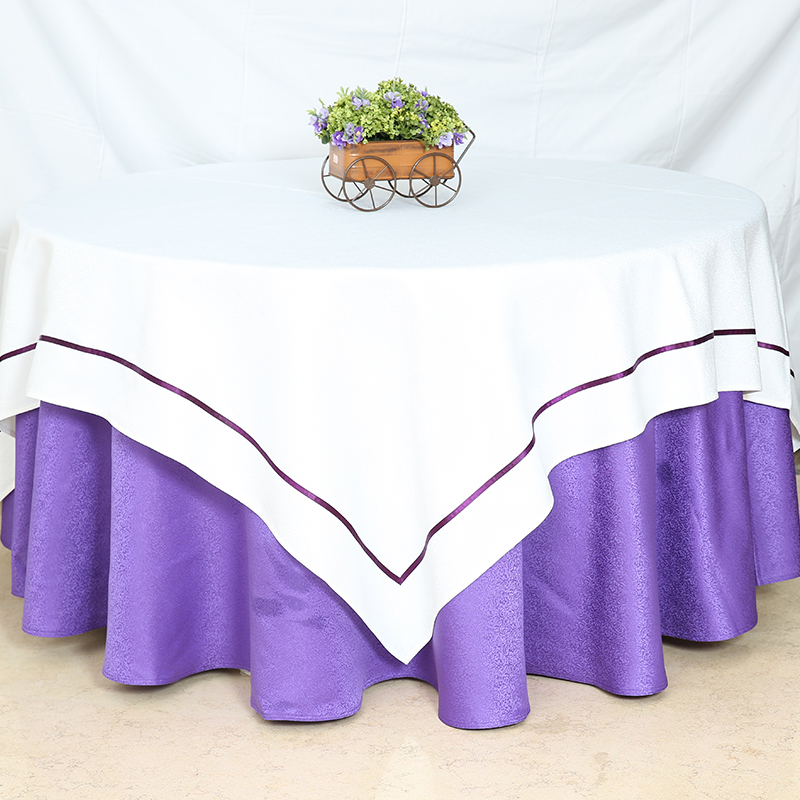tablecloth purple