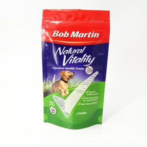 Stand Up Pouch With Zipper For Dog Food