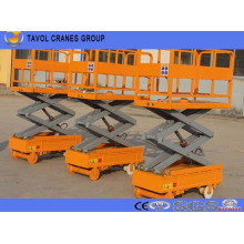 Guide Rail Aerial Scissor Lift Platform to Pick Fruit