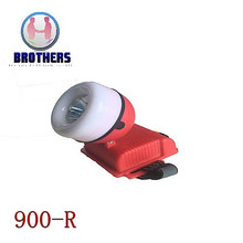 Red Plastic Outdoor 3AA LED Headlamp