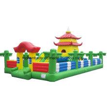 PVC-Beschichtungsplane für aufblasbares Schloss Tb021