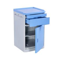Mobília azul médica do hospital do armário da tabela nova da cabeceira do hospital do ABS da alta qualidade do produto da tendência