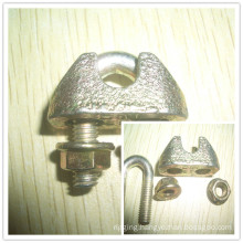 Metal Fastener Malleable Wire Rope Clip DIN1142 Hardware