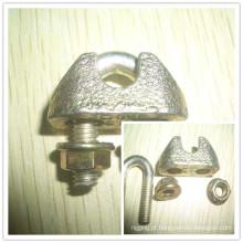 Prendedor de metal maleável cabo Clip DIN1142 Hardware