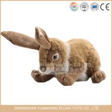 Emulational long ears plush rabbit toys