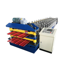 New Double Trapezoidal Roll Forming Machine