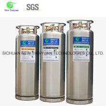 2,0 MPa Pression de travail 175L Volume Cylindre liquide à l'azote