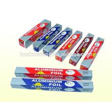 Papel de aluminio rollo de alimentos