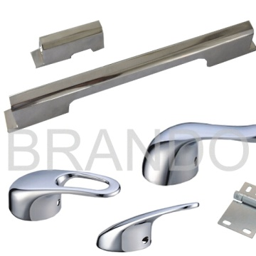 Aluminum Die Casting Chrome Coated Door Handle