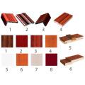 Porta blindada de madeira de aço / porta de madeira da segurança do aço (YF-G9001)